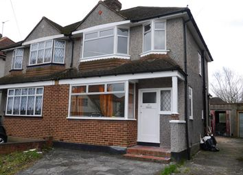 Thumbnail 3 bed semi-detached house to rent in Lodge Crescent, Orpington
