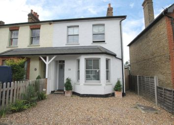 Thumbnail 3 bedroom property to rent in Albany Road, Hersham, Walton-On-Thames