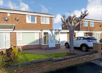 Thumbnail 3 bed semi-detached house for sale in Hamilton Crescent, North Shields