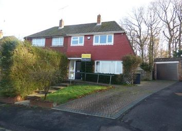 Thumbnail 3 bed semi-detached house for sale in Cowplain, Waterlooville, England