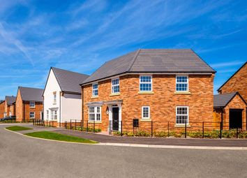 "Thumbnail 4 bed detached house for sale in ""Ashtree"" at Blandford Way, Market Drayton"
