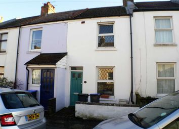 Thumbnail 2 bed terraced house to rent in Orme Road, Broadwater, Worthing