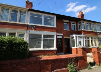 Thumbnail 3 bed terraced house for sale in Fordway Avenue, Blackpool