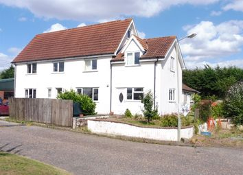 Thumbnail 5 bed detached house for sale in Grove Corner, Grove Road, Banham, Norwich