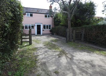 Thumbnail 3 bed cottage for sale in Leiston Road, Knodishall, Saxmundham, Suffolk