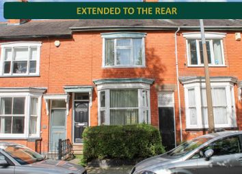 Thumbnail 3 bed terraced house for sale in Adderley Road, Clarendon Park, Leicester