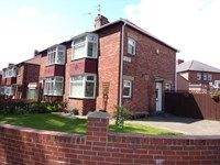 Thumbnail 3 bed semi-detached house for sale in Glendower Avenue, North Shields