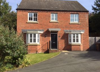 Thumbnail 4 bed detached house to rent in Mariana Close, Chellaston, Derby