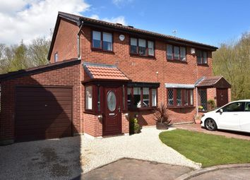 Thumbnail 3 bed semi-detached house for sale in Mccarthy Close, Birchwood, Warrington