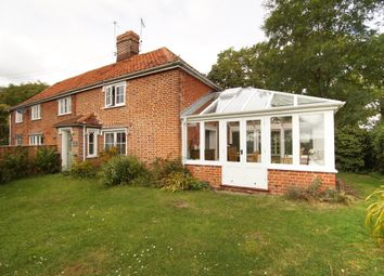 Thumbnail 2 bed cottage for sale in Saxtead, Woodbridge