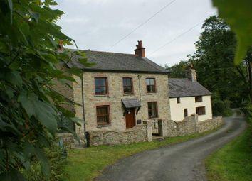 Thumbnail 4 bed farmhouse for sale in Rhydlewis, Llandysul
