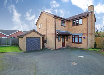 Thumbnail 4 bed detached house for sale in Clematis Crescent, Burton-On-Trent