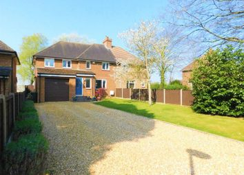 Thumbnail 3 bed semi-detached house for sale in Station Road, Blunham
