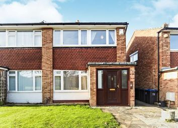 Thumbnail 3 bed semi-detached house for sale in Overstone Gardens, Shirley, Croydon, Surrey