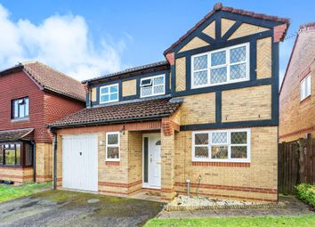 Thumbnail 4 bed detached house for sale in Hepplewhite Drive, Basingstoke