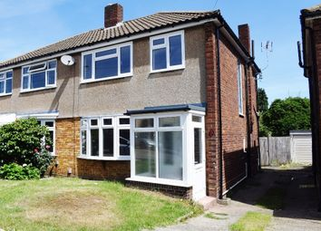 Thumbnail 3 bed semi-detached house to rent in Holmbridge Gardens, Enfield