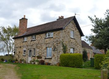 Thumbnail 3 bed detached house to rent in Top Road, Croxton Kerrial, Grantham