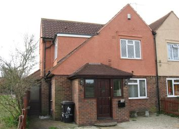 Thumbnail 3 bed semi-detached house to rent in Thanington Road, Canterbury