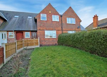 Thumbnail 3 bed terraced house for sale in Edwinstowe Drive, Sherwood, Nottingham