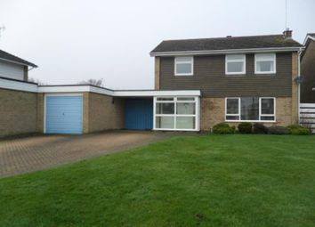 Thumbnail 4 bed detached house to rent in Apsley Way, Longthorpe, Peterborough