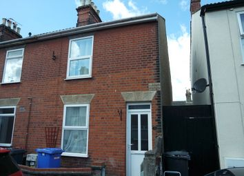 Thumbnail 3 bedroom end terrace house for sale in Edinburgh Road, Lowestoft