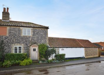 Thumbnail 3 bed semi-detached house for sale in The Street, Gooderstone, King's Lynn