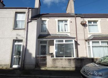 Thumbnail 3 bedroom terraced house for sale in Ucheldre Avenue, Holyhead, Sir Ynys Mon