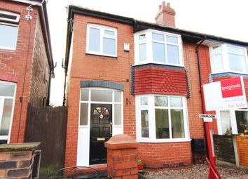 Thumbnail 3 bed semi-detached house for sale in Sherborne Road, Stockport, Cheshire