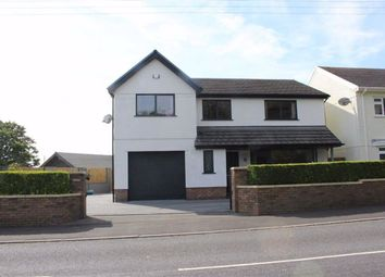 Thumbnail 4 bed detached house for sale in Llanmorlais, Swansea