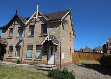 Thumbnail 2 bed semi-detached house for sale in Stonebridge Drive, Conlig, Newtownards