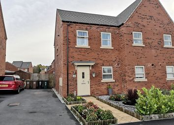 Thumbnail 2 bed semi-detached house for sale in Rowan Drive, Midway, Swadlincote