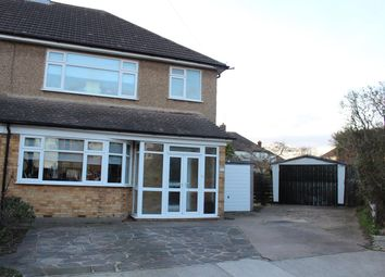Thumbnail 3 bed semi-detached house to rent in Tyne Close, Upminster