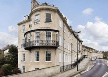 Thumbnail 3 bed flat to rent in Camden Crescent, Bath