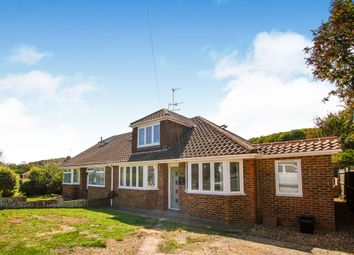 Thumbnail 5 bed semi-detached bungalow for sale in Meadow Close, Rottingdean, Brighton