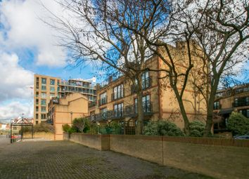 Thumbnail 1 bedroom town house to rent in Chancellors Wharf, Crisp Road, London