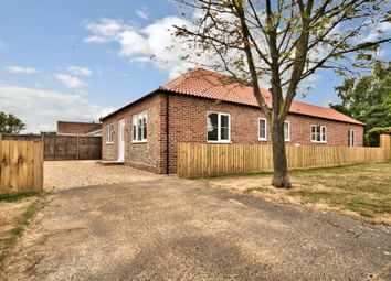 Thumbnail 3 bed detached bungalow for sale in Whissonsett Road, Colkirk, Fakenham