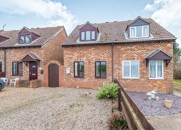 Thumbnail 1 bed semi-detached house for sale in Burnt House Road, Turves, Peterborough