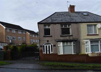Thumbnail 3 bedroom semi-detached house for sale in Cockett Road, Swansea