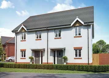 "Thumbnail 3 bed semi-detached house for sale in ""The Buscott"" at Lady Lane, Blunsdon, Swindon"