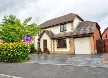 Thumbnail 4 bed detached house for sale in Mallens Croft, Uttoxeter