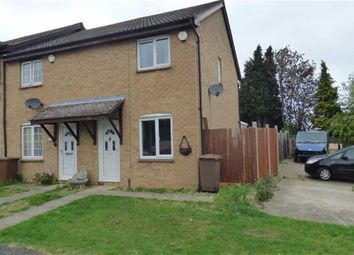 Thumbnail 2 bed end terrace house for sale in Northbank Close, Strood, Rochester