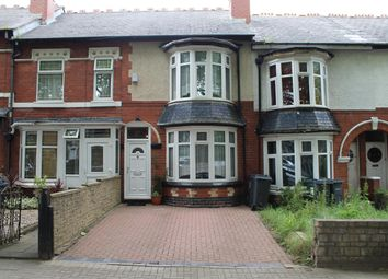 Thumbnail 3 bedroom terraced house for sale in Windermere Road, Handsworth, Birmingham
