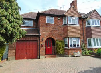 Thumbnail 4 bed semi-detached house for sale in Byron Road, South Croydon, Surrey