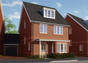 Thumbnail 5 bed link-detached house for sale in Parklands, Woodlands Avenue, Woodley, Berkshire