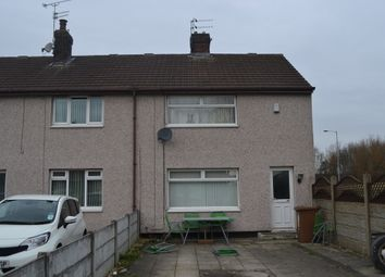 Thumbnail End terrace house for sale in Waterland Lane, St. Helens