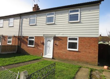Thumbnail 3 bed semi-detached house to rent in Beatty Road, Ipswich