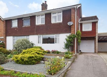 Thumbnail 3 bed semi-detached house for sale in Cedar Road, Sturry, Canterbury