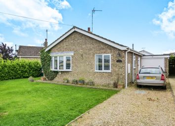 Thumbnail 2 bed detached bungalow for sale in Chalk Road, Walpole St. Peter, Wisbech