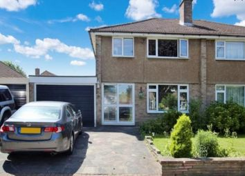 Thumbnail 3 bed semi-detached house to rent in Mosyer Drive, Orpington