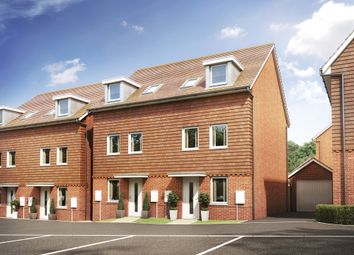 "Thumbnail 3 bed semi-detached house for sale in ""Norbury"" at Park Prewett Road, Basingstoke"